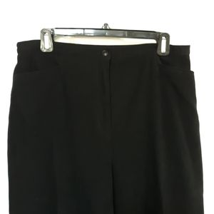 Black Dress Pants Jennifer Moore Collection Sz 14